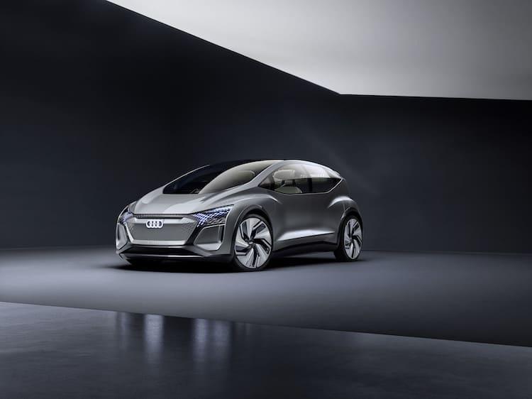 Audi AI:ME Colour: Aurora Silver