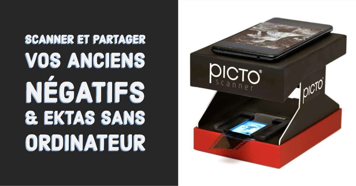 Pictoscanner Permet De Scanner Vos Anciennes Diapositives