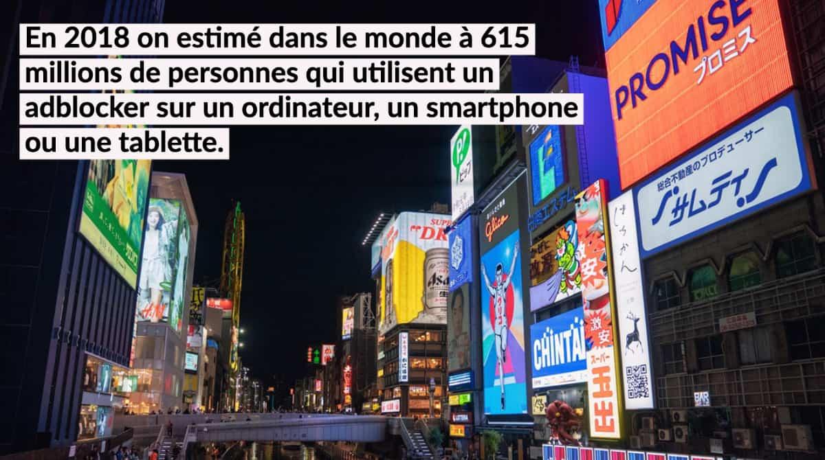 Selon eMarketer, 15,4 millions d'internautes Français utiliseront un AdBlock au moins une fois par mois en 2018, soit 28,7% des internautes. Notons que c'est parmi les 18-24 ans que l'utilisation est la plus importante : 48% des utilisateurs dans cette tranche d'âge sont concernés en 2018. En 2018 on estimé dans le monde à 615... […]