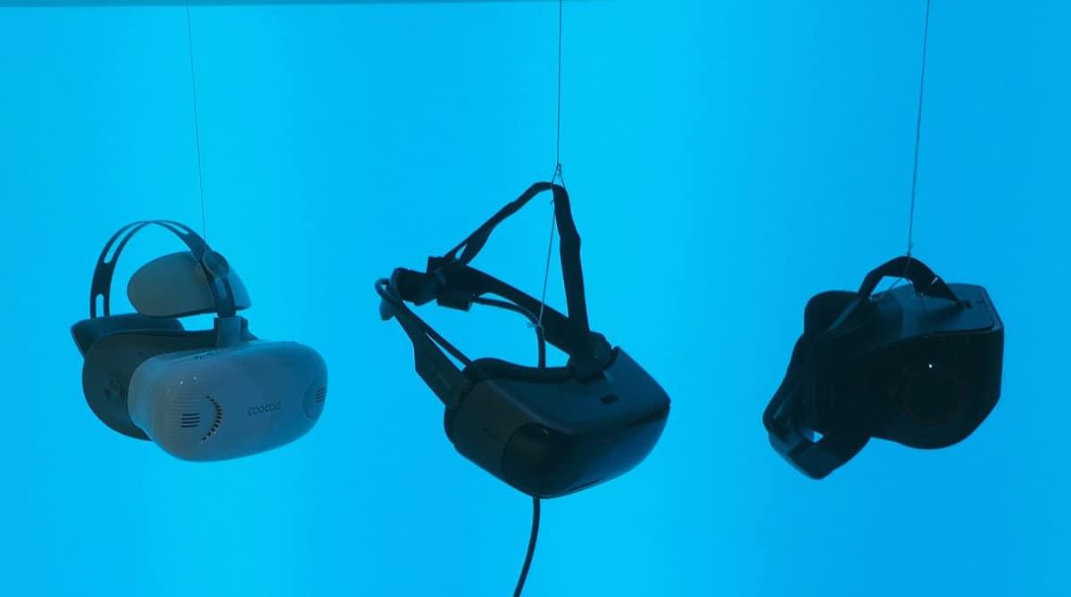 Casque VR. Image Illustration