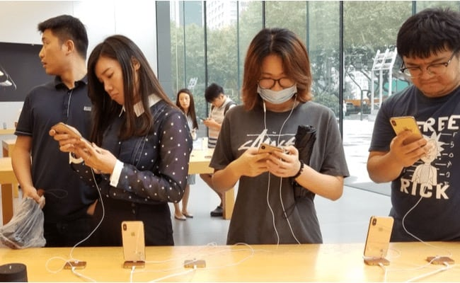 iPhone Apple Store Chine