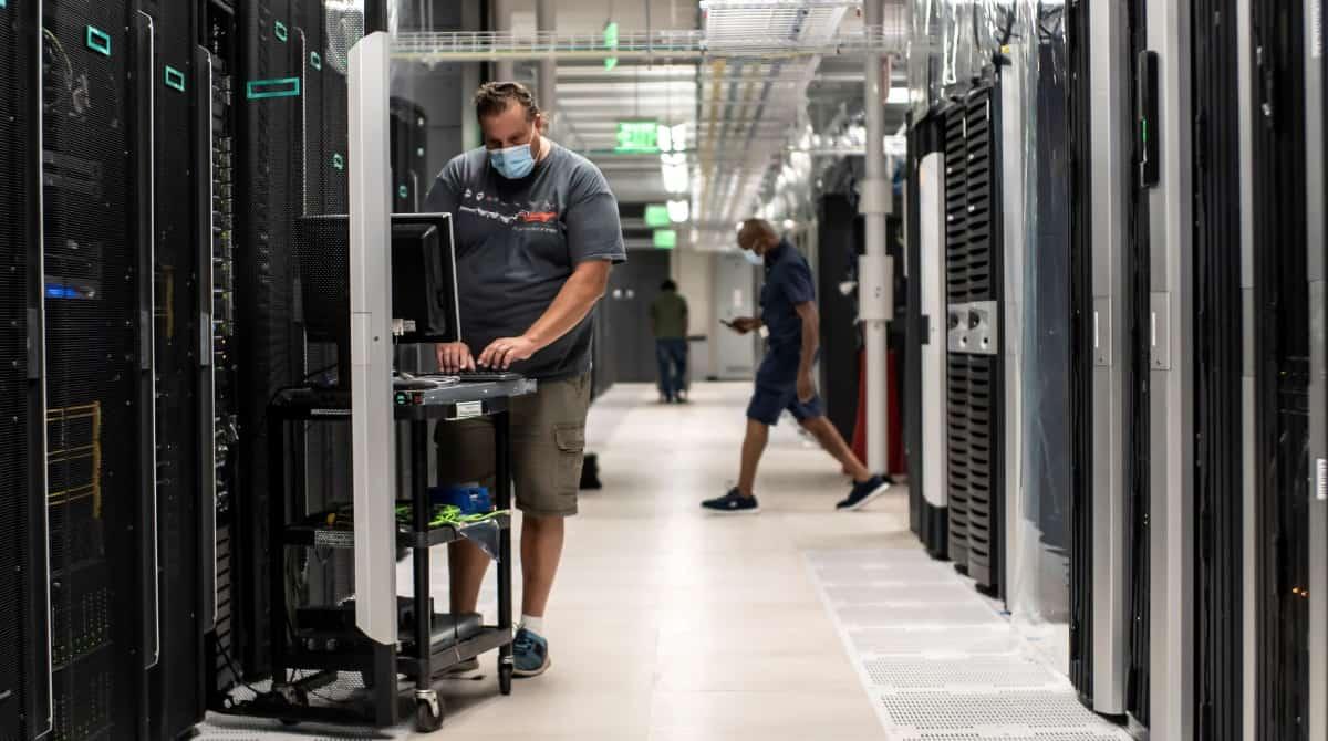 Photo : Hewlett Packard Enterprise