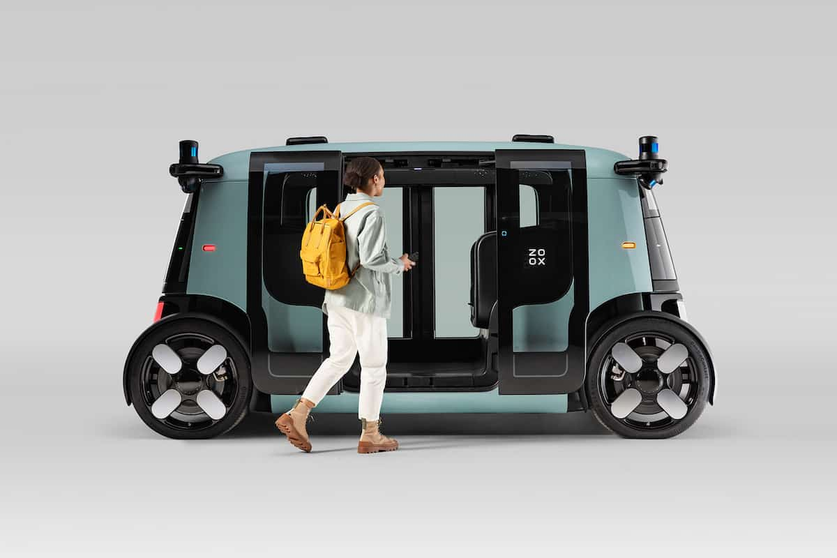 Photo : Zoox, le Robotaxi d'Amazon 100% autonome et électrique